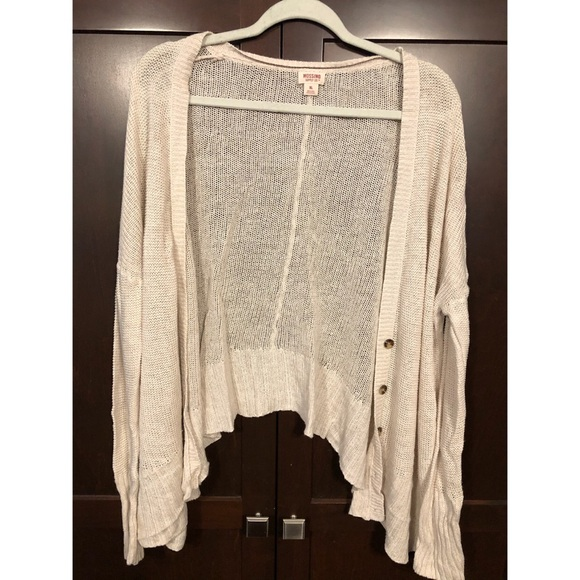 Mossimo Supply Co. Sweaters - ••⚡️⚡️Creamy Lightweight Cardigan⚡️⚡️••